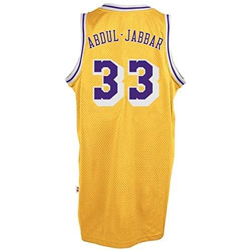 f6f2beca3c6 ... coupon code for kareem abdul jabbar los angeles lakers gold throwback  swingman jersey 85off 09b00 ecec3