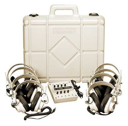 Califone 1218AV-01 8-Position Monaural Listening Center with Volume Controls, 2001 Case