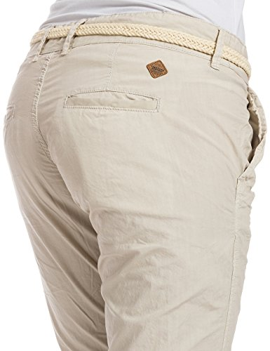 Alannatz Belt Femme Incl 2038 Birch silver Elfenbein Pantalon Pants Timezone Chino dSPdqZ