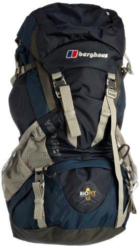 Berghaus hiking bag Verden 65+10 blue/black