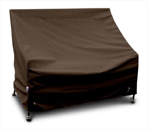 KoverRoos 94203 5 Foot Bench/Glider Cover, Choose Fabric Color: 9: Chocolate