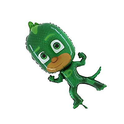 "PJ Masks - 36"" Foil Balloon - Gekko: Toys & Games"