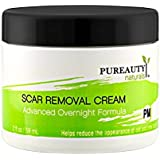 Scar Removal Cream (PM) – Advanced Scar Treatment for Night Time Use – Help Reduce the Appearance of Old and New Scars – Made in USA With Natural Ingredients – Help Make Your Scars Go Away!