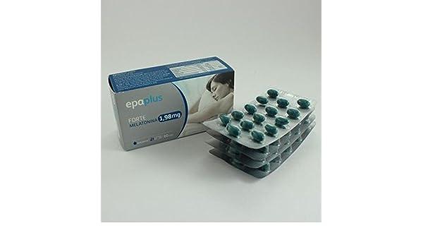 Epaplus Melatonina Forte 1,98 Mg 60 Cápsulas de Peroxidos Farmaceuticos: Amazon.es: Salud y cuidado personal