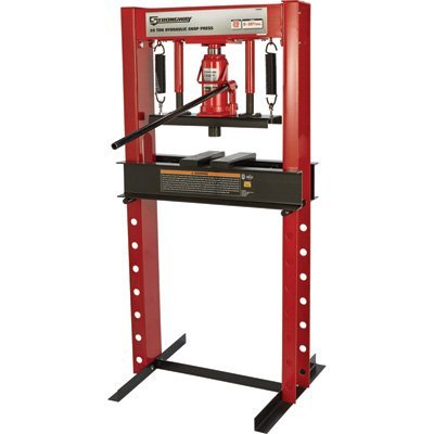 20 Ton Shop Press (Strongway Hydraulic Shop Press - 20-Ton Capacity)