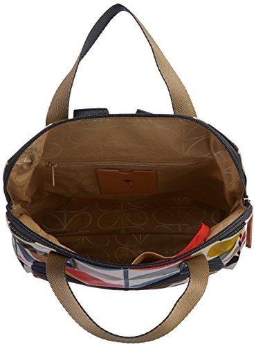 ETC av Orla Kiely dam klassisk ryggsäck med flera stammar