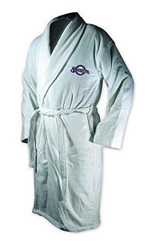 MLB Milwaukee Brewers Cotton Robe (Royal, One -