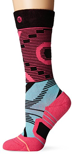 Stance Women's Keetley Snow Fusion Sock, Black, Small