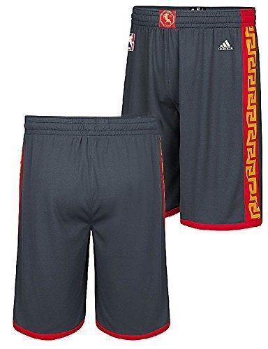 Golden State Warriors Adidas 2016 Chinese New Year Swingman Performance Shorts - Swingman Shorts Adidas