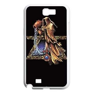 Samsung Galaxy N2 7100 Cell Phone Case White_Aquarius by Alchemy TR2483639