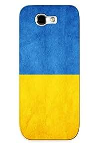 Hot PyoWWYd3352sLHoz Case Cover Protector For Galaxy Note 2- Ukraine Flag