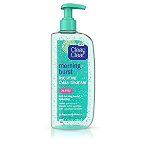 Clean & Clear Morning Burst Hydrating Facial Cleanser, 8 Fl. Oz