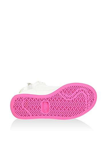 Sneakers Bambina Pelle Bianco azzurro Diadora gCgwrxq0n