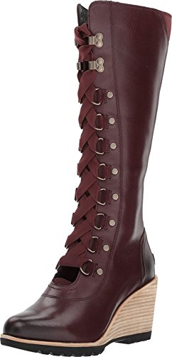 Sorel Womens After Hours No Tongue Tall Boot Redwood 6 B(M) US