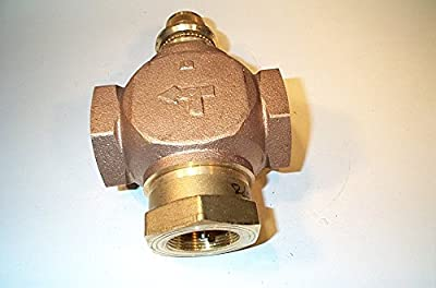 Globe Valve, 3-Way Mixing, 1-1/2 In, (F)NPT from Johnson Controls, Inc.