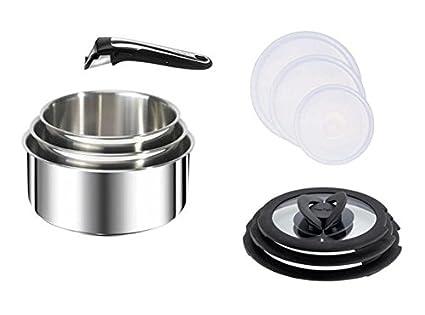 Tefal Ingenio Gourmet-Batería de cocina juego de 4 piezas ...