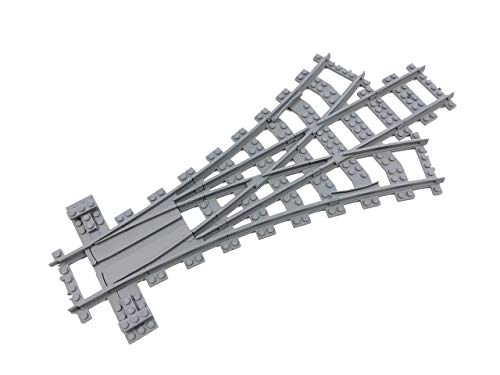 Trixbrix Triple Switch R104, Compatible with Lego Train, 3D Printed!