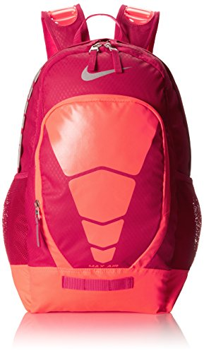 Women s Nike Max Air Vapor Backpack Fuchsia Force Hyper Punch Metallic  Silver Size One b77cb976f1