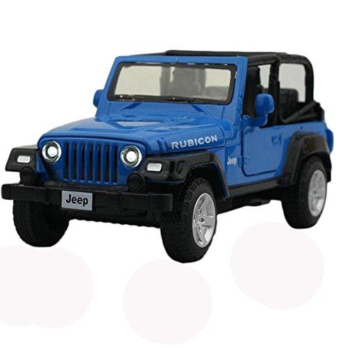Kylin Express Mini Alloy Car Models SUV Car Toy for Kids, Blue (13.566 cm)