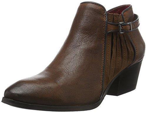 Buffalo London Es 30811 Lavato Ante, Zapatillas De Estar por Casa para Mujer Marrón