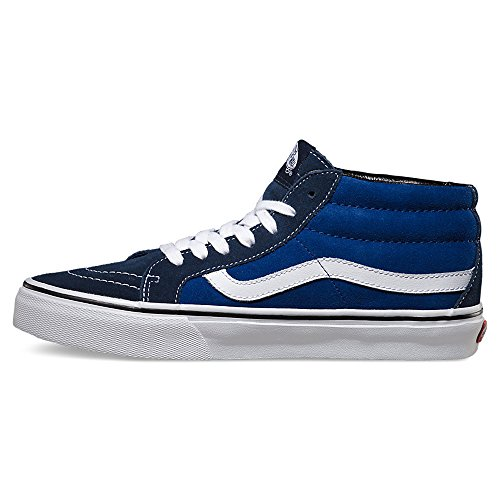 VANS - SK8-HI MID REISSUE - Suede dress blue true blue