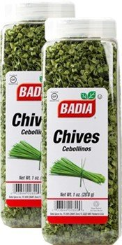 Badia Chives Dehydrated 1 oz Pack of 2