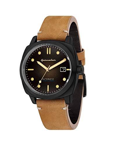 Reloj Hombre - Spinnaker - Gama Vintage - Hull - automático - 42 mm - 10 ATM - sp-5059 - 04: Amazon.es: Relojes