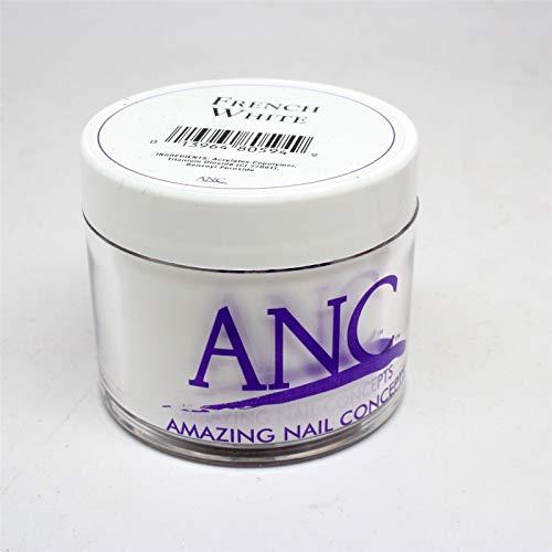 ANC Dip Powder Amazing Nail Concepts French White FW02 2 ()
