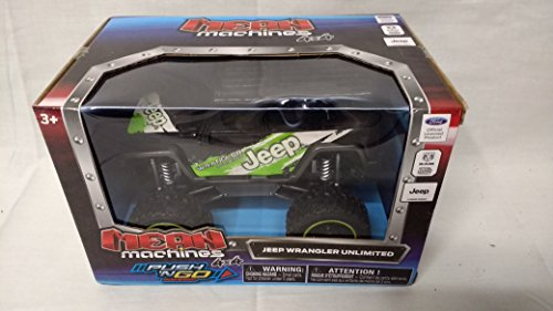 Mean Machines Push 'N Go Jeep Wrangler