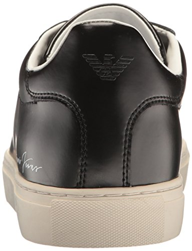 Black Fashion JEANS Cut Sneaker Mens ARMANI Jeans Low Script Pwpx8Oq