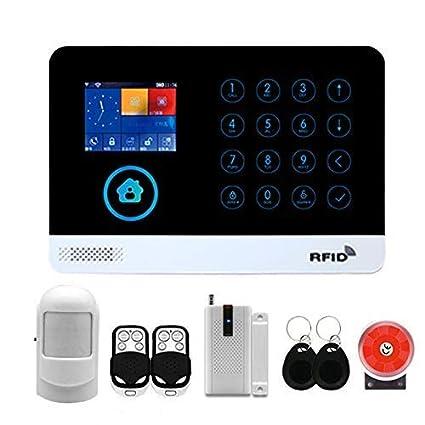 CCDZ Sistema De Alarma gsm/SMS LCD Pantalla De Menú En ...