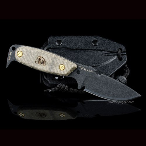 DPx HEST Original fixed blade survival knife. Made by Ontario Knife Company, Outdoor Stuffs