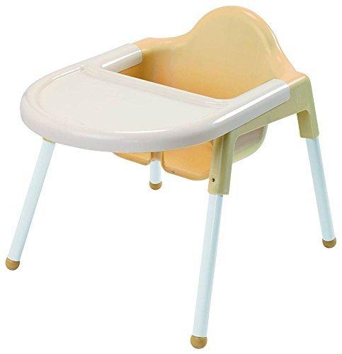 Angeles AFB7940 Angeles Feeding Chair, 21.75'' Height, 15.5'' Length, 18.5'' Width, White