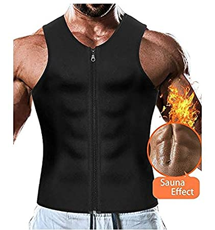 Buy Di Grazia Small Size (Check Size Chart) Men Waist Trainer Vest