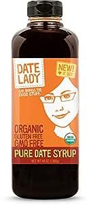 Award Winning Organic Date Syrup 3 lb Squeeze Bottle   1 ingredient:100% Dates. Vegan, Paleo, Gluten-free & Kosher   Also Known As Silan, Date Honey and Date Nectar