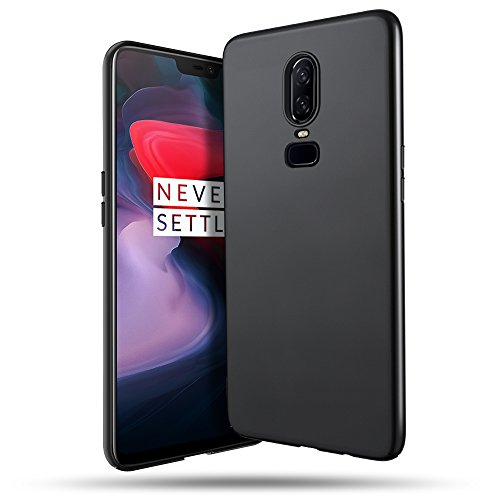 OnePlus 6 Case, B BELK Ultra Slim Thin Snug-Fit Scratch Resistant Premium PC Hard Protective Cover with Matte Finish Coating for OnePlus 6, Black