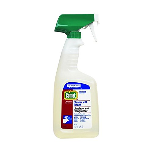 Proctor & Gamble Comet Cleaner with Bleach,32 oz Bottle, 8 Per Case