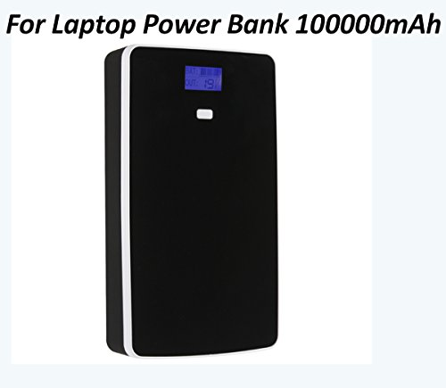Laptop Power Bank 100000mAH Portable Charger External Battery Phone Tablet Powerbank 5/7/9/12/14/16/19v by FIVE CENTS