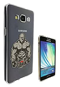 c0166 - Gym Workout Shut Up Train Design For All Samsung Galaxy A3 Fashion Trend CASE Gel Rubber Silicone Protective Case Clear Cover