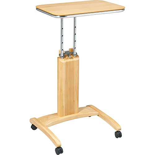 Sterken Laptop Cart in Natural RTM258014 by Office Star