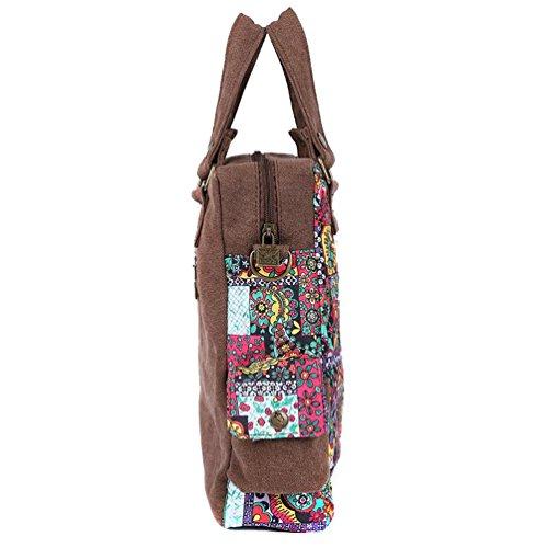 Chang Spent Sra bolso de lona marea bolsa de mensajero del viento nacional (para enviar un pequeño espejo y monedero) , b1352a b1352a