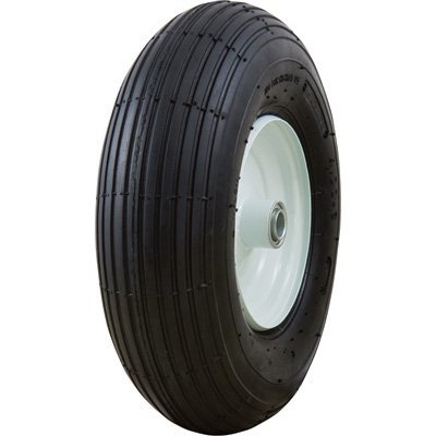 Marathon Tires Pneumatic Wheelbarrow Tire - 3/4in. Bore, 4.00-6in.