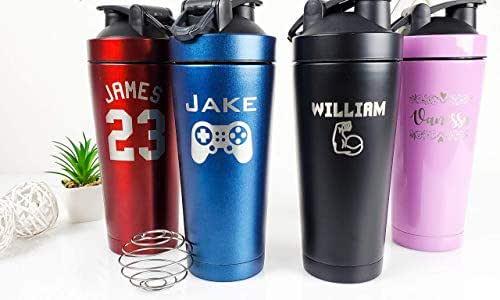 Amazon.com: Personalized Insulated Shaker Bottle - 24