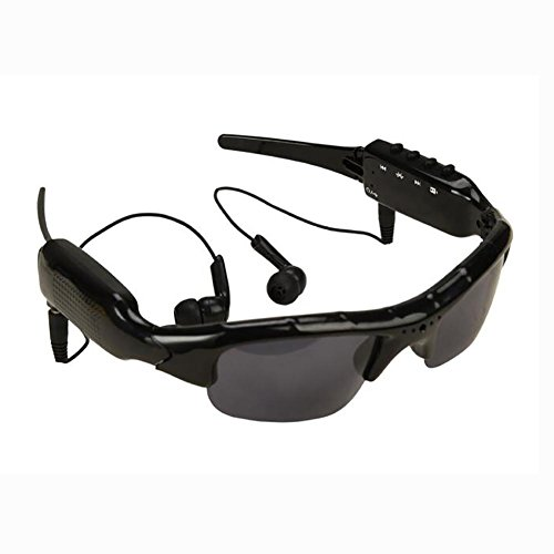 MIAO Outdoor Sports Bluetooth Mp3 HD Camera Photography Sunglasses