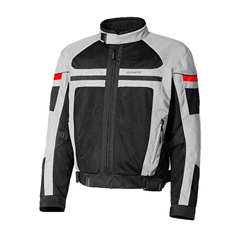 Olympia Sports Men's Newport Jacket (Silver, Large)