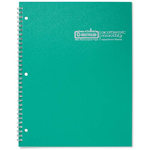 House of Doolittle 2019-2020 Monthly Planner, Academic, Bright Green, 8.5 x 11 Inches, July - August (HOD26309-20)