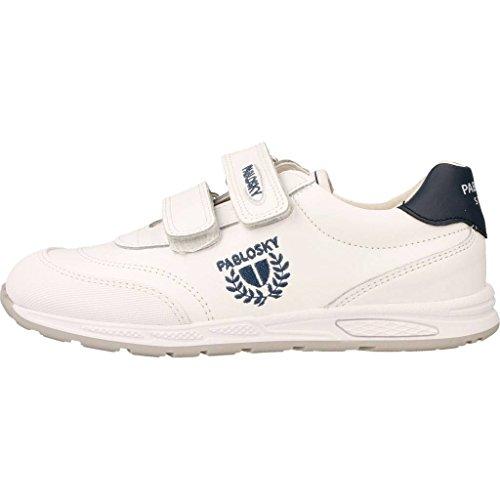 Chaussures Mixte De Fitness 265502 Pablosky Blanc Enfant waBvq0x5n