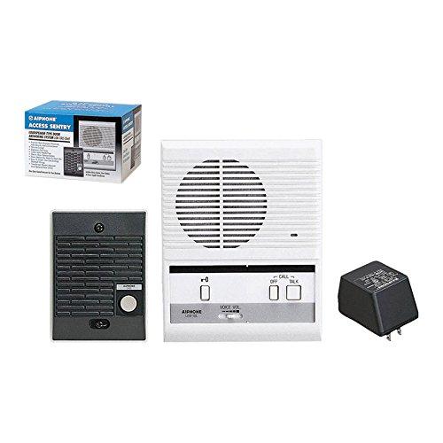 Wireless Intercom Kit - Aiphone LEM-1DLS Single-Door Access Sentry System Starter Kit with One Master Intercom