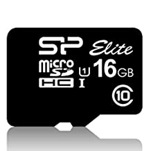 Silicon Power Superior 16GB MicroSDHC UHS-1 Memory Card Speed upto 90MB/s with SD Adapter (SP016GBSTHDU1V10E1)