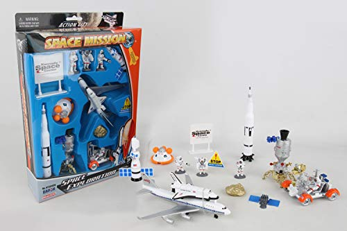 (Space Mission 16 Piece set w/ Kennedy Space Center Sign)